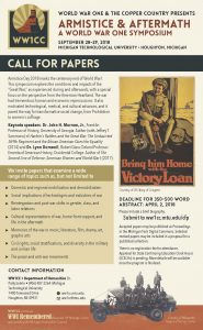 WW1CC CFP poster