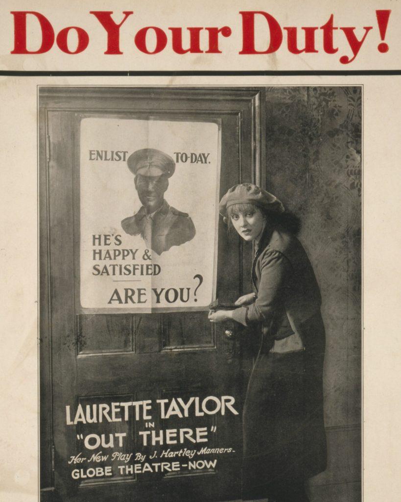 Local Theatres, Propaganda & WWI